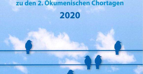 Neue Herausgabe: Atem, los! Chorheft zu den 2. Ökumenischen Chortagen 2020