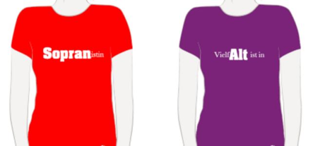 Chor-Shirts sind online bestellbar!